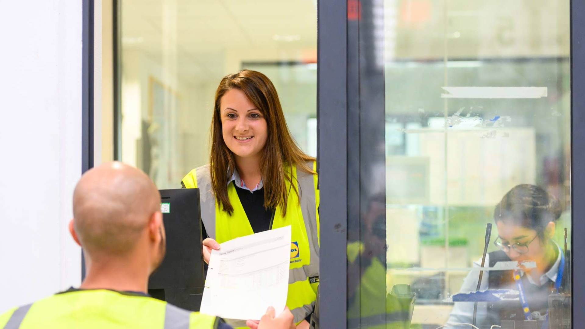 warehouse office jobs at Lidl