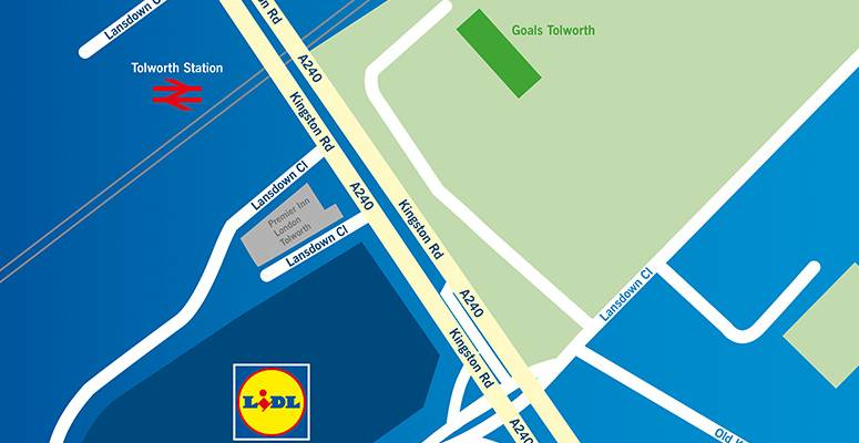 New Lidl Head Office, Tolworth
