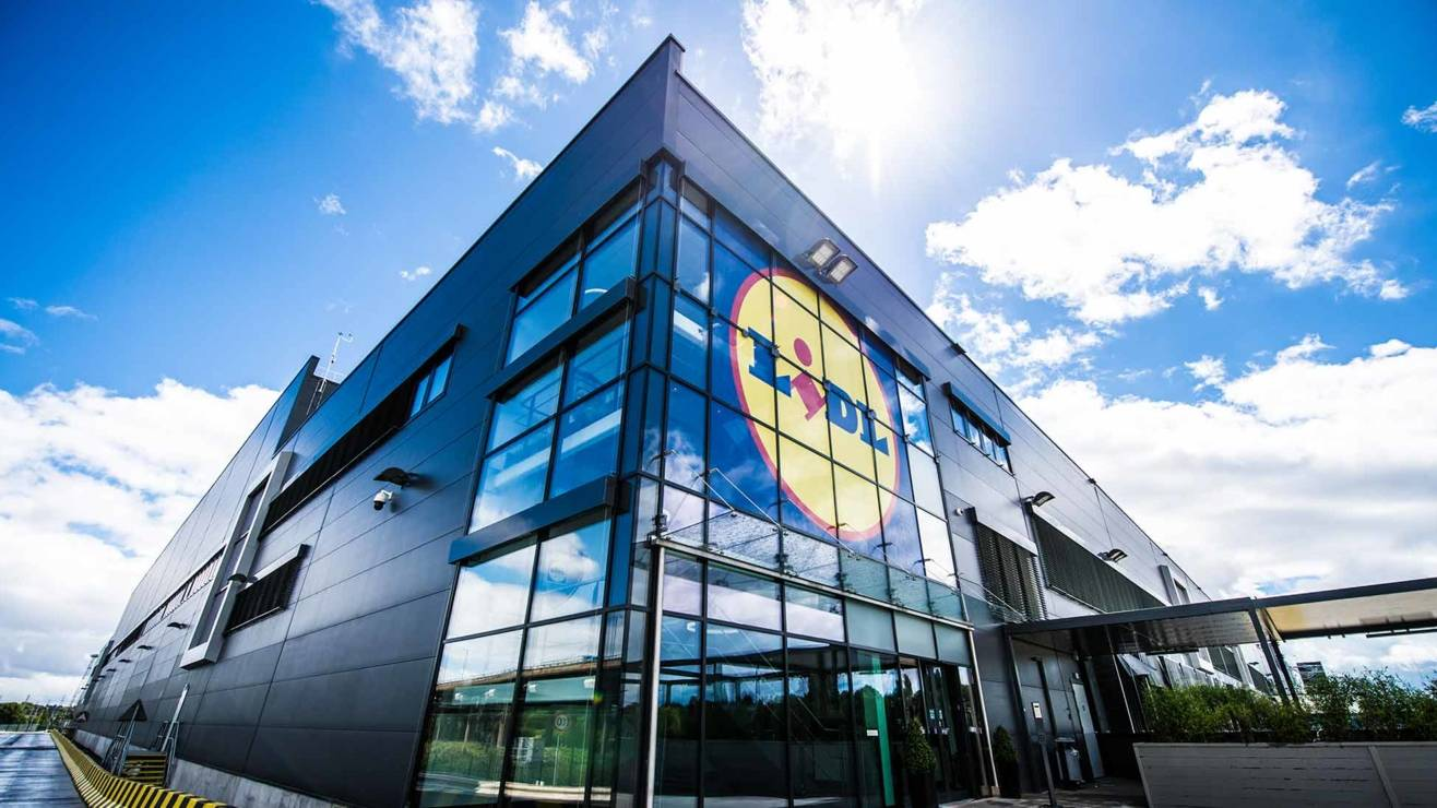 Lidl office or warehouse jobs